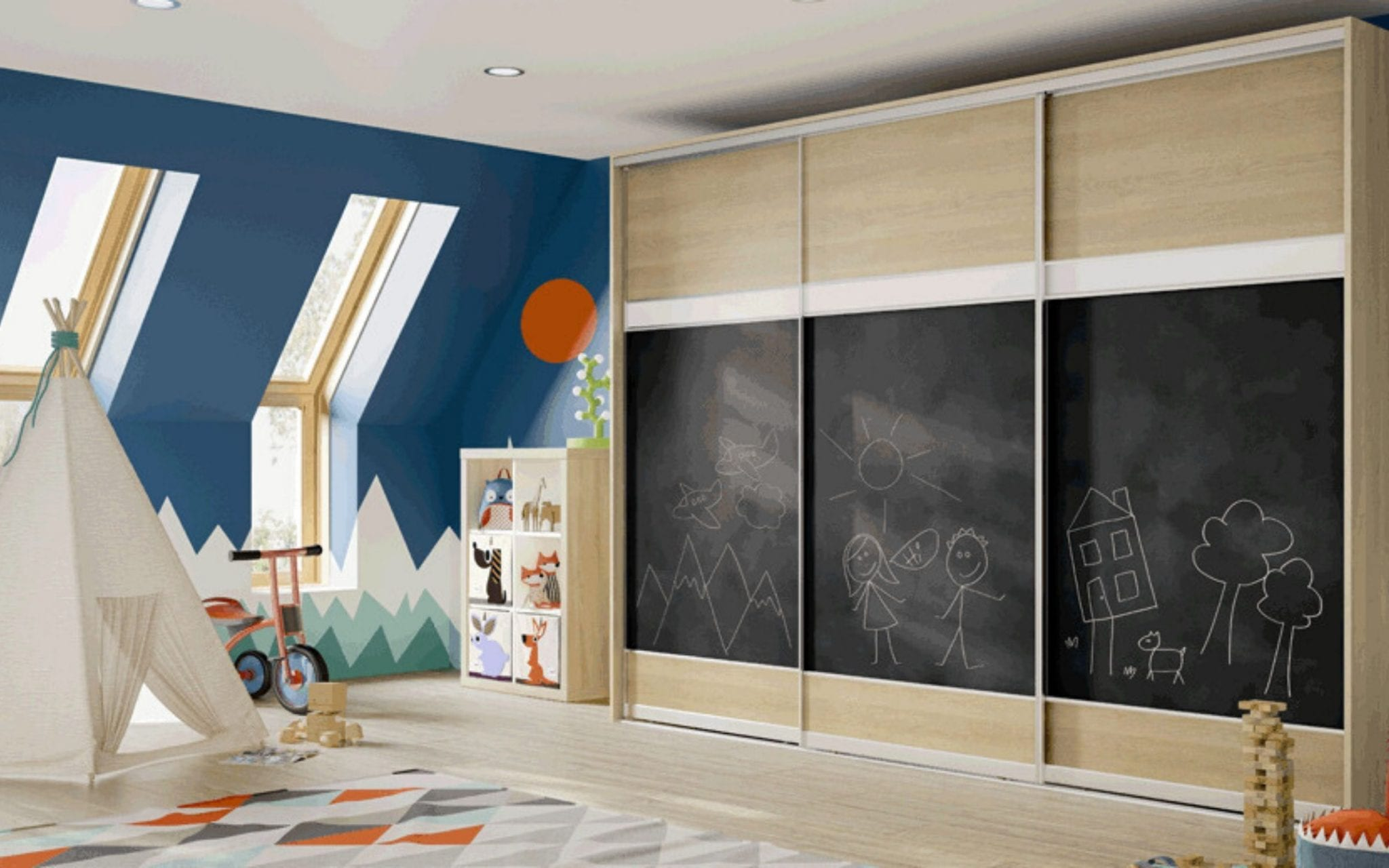 Children's Sliding Door