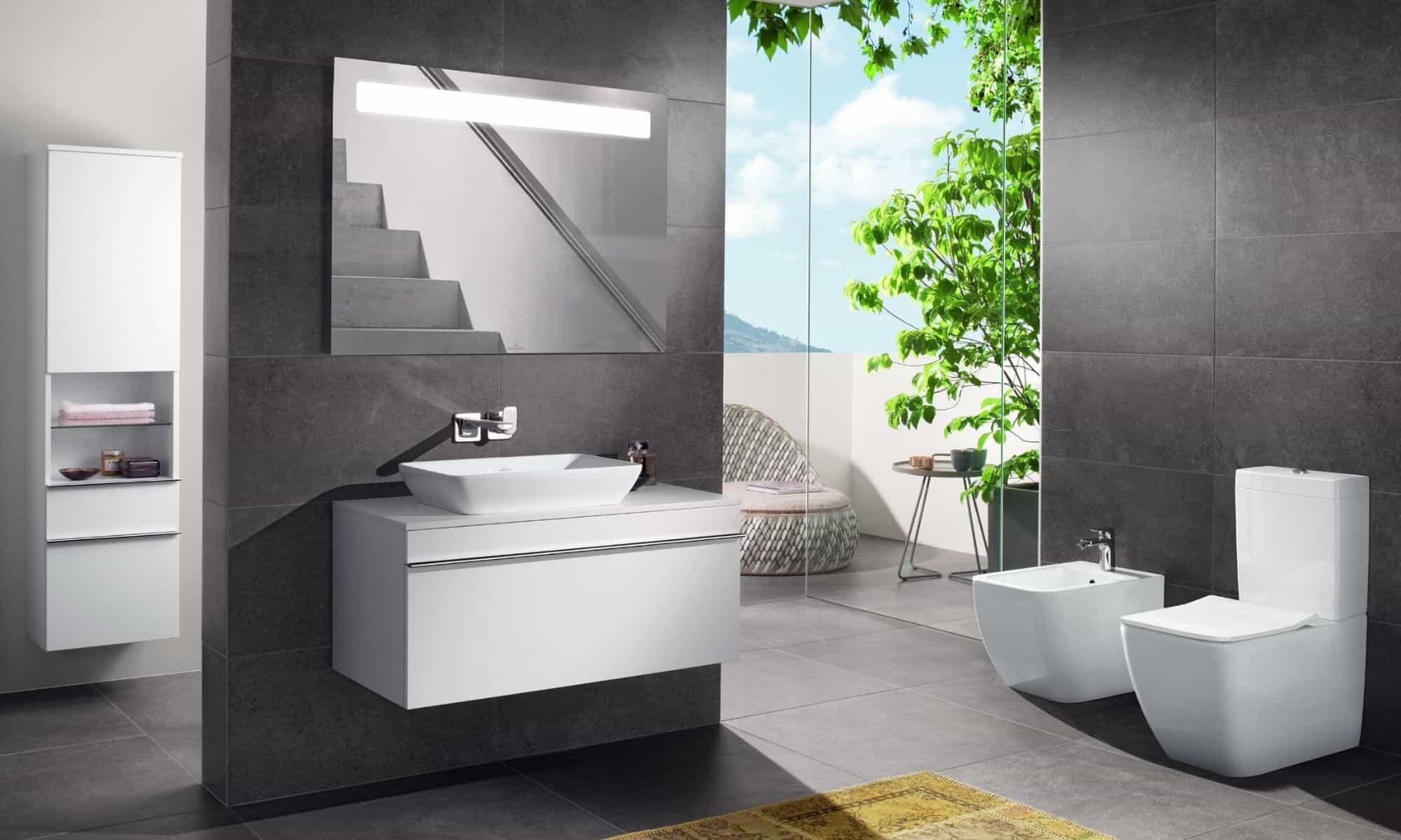 Villeroy & Boch bathroom display