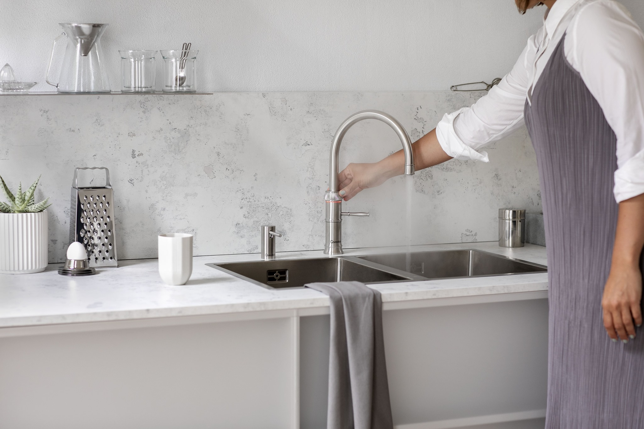 Silver Quooker Tap