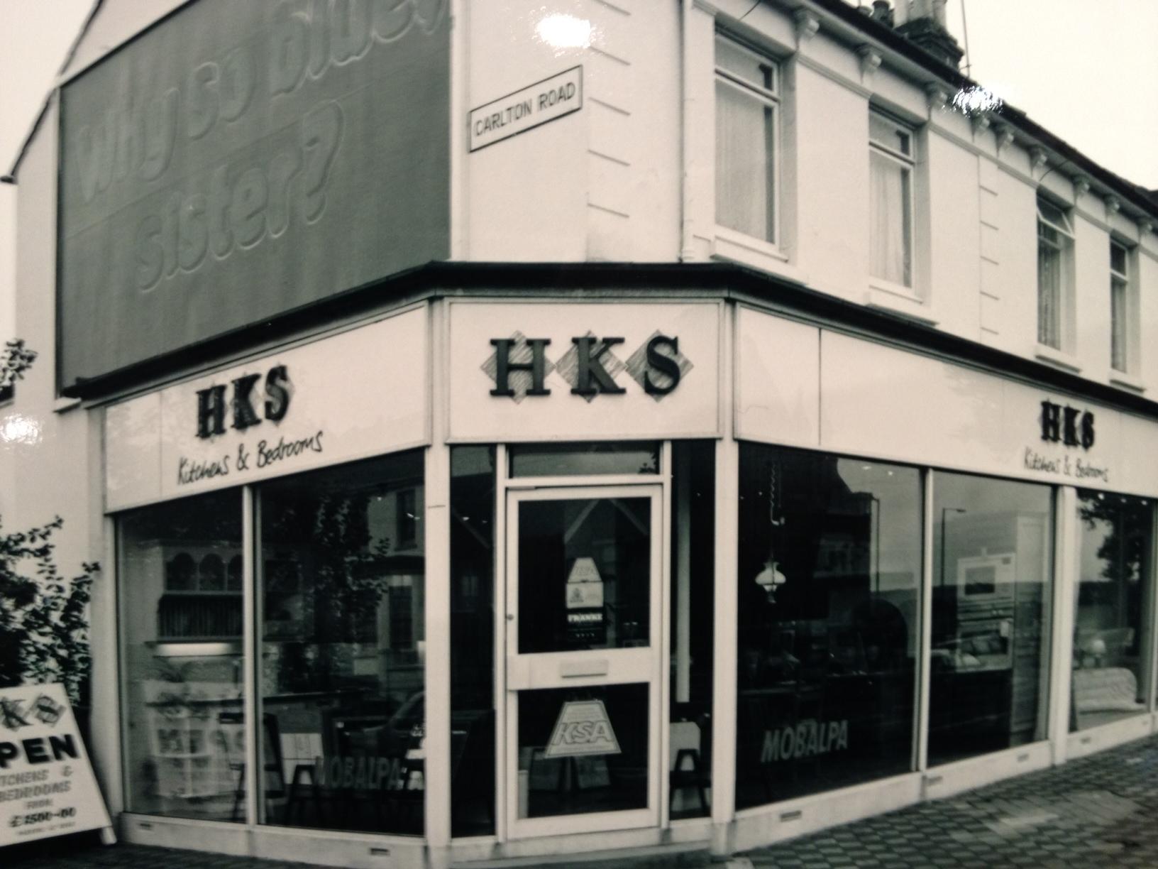 Eastbourne Showroom HKS 1989