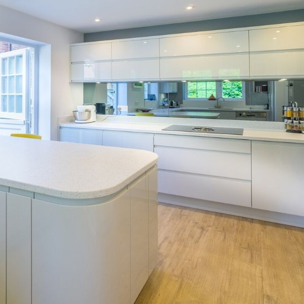 Funtional kitchen in gloss