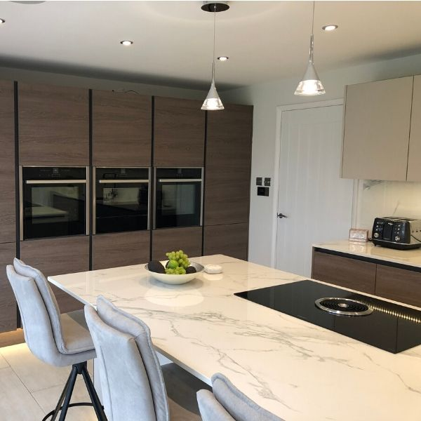 Luxury Handleless kitchen